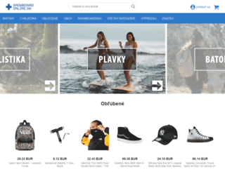 snowboard-online.sk screenshot