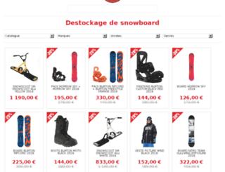 snowboard.crocoboardshop.com screenshot