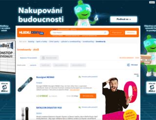 snowboardy.hledejceny.cz screenshot
