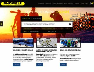 snowell.com screenshot
