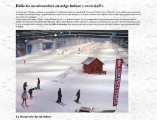 snowhall.fr screenshot