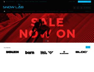 snowlab.co.uk screenshot