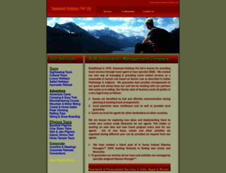 snowland-holidays.com screenshot