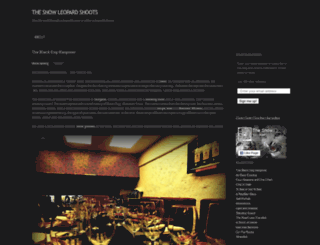 snowleopardshoots.wordpress.com screenshot