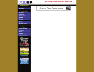 snowmachines.700hp.com screenshot