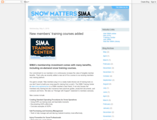 snowmatters.blogspot.com screenshot