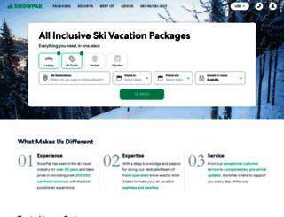 snowpak.com screenshot