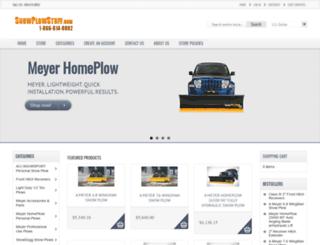 snowplowstuff.com screenshot