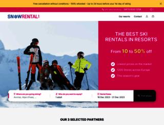 snowrental.net screenshot