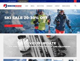 snowride.co.nz screenshot
