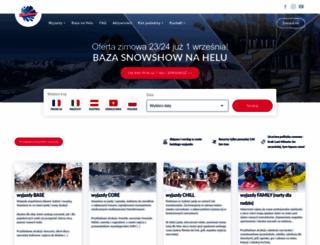 snowshow.pl screenshot