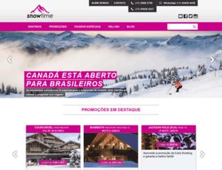 snowtime.com.br screenshot