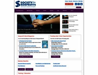 snpo.org screenshot