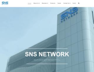 sns.com.my screenshot