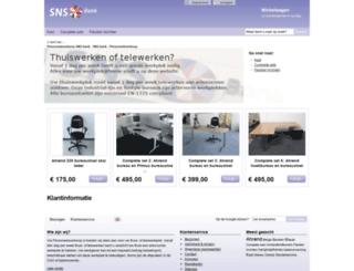 sns.personeelsverkoop.nl screenshot
