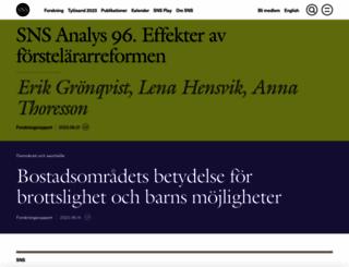 sns.se screenshot