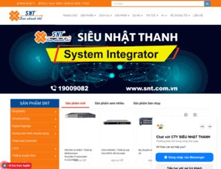 snt.com.vn screenshot