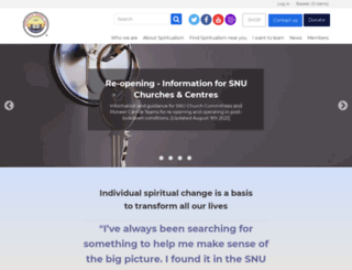 snu.org.uk screenshot