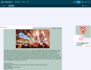 snuh.livejournal.com screenshot