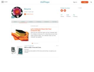 snurre.hubpages.com screenshot