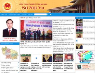 snv.bacninh.gov.vn screenshot