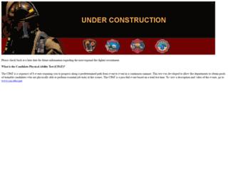 snvfirerecruitment.com screenshot