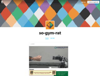 so-gym-rat.tumblr.com screenshot