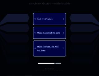 so-schmeckt-das-muensterland.de screenshot