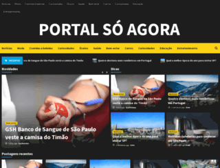 soagora.com.br screenshot