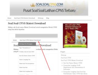 soalsoalcpns.com screenshot