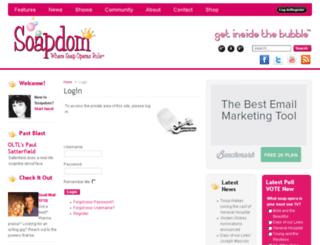 soapdom.com screenshot