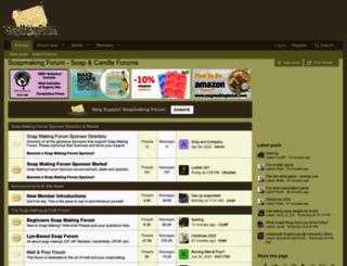 soapmakingforum.com screenshot