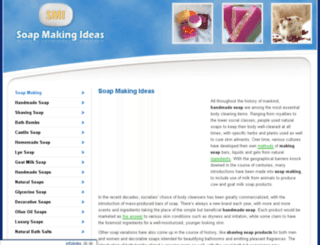 soapmakingideas.net screenshot