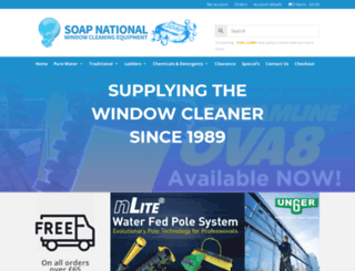 soapnational.co.uk screenshot
