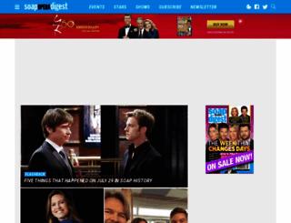 soapoperadigest.com screenshot