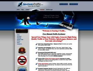 soaring4traffic.com screenshot