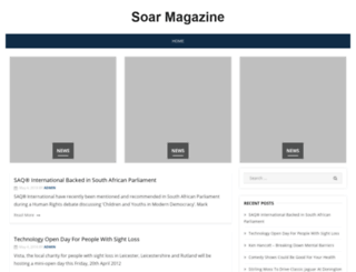 soarmagazine.co.uk screenshot