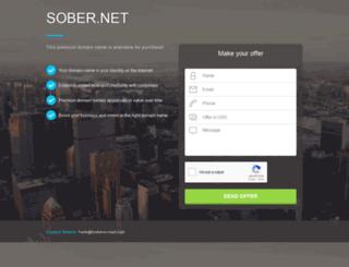 sober.net screenshot