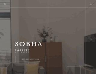 sobha-me.com screenshot