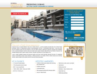 sobhaserene.com screenshot