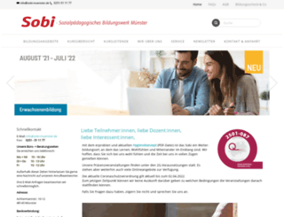 sobi-muenster.de screenshot