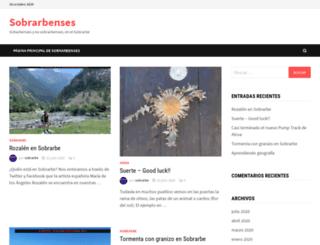 sobrarbenses.com screenshot