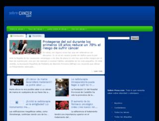 sobre-cancer.com screenshot