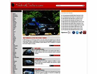 sobrecoches.com screenshot