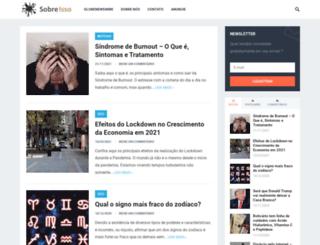 sobreisso.com screenshot