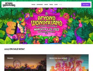 socal.beyondwonderland.com screenshot