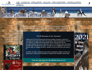 socalequine.com screenshot