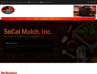 socalmulch.com screenshot