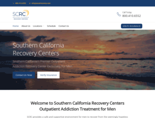 socalrecovery.com screenshot