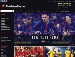 soccer-gear.worldsoccershop.com screenshot